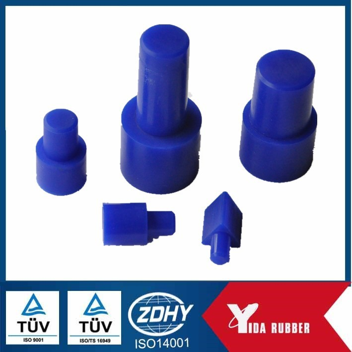 Rubber stopper, silicone blue butyl rubber stopper for dust and water proof