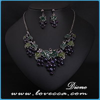 New fashion jewelry accessories wholesale sale charms grade necklace sets