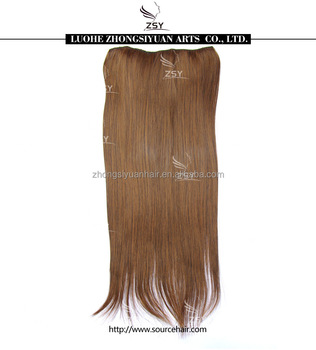 ZSY hot sale kids ponytail hair extension brazilian hair bulk