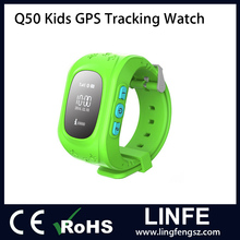 2016 Children Smart Watch OLED Display Kids GPS Tracker Watch Q50 Tracking smart watch
