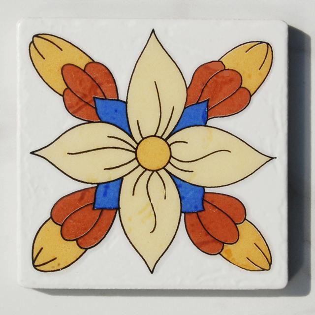 ceramic tiles flower pattern_Yuanwenjun.com