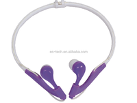 Neck band headphone in ear system