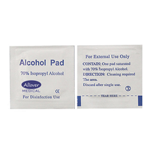 70% Isopropyl Medical-Class Alcohol Prep Pad