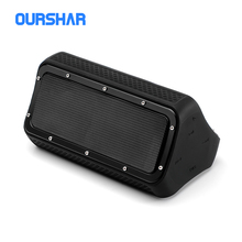 TWS outdoor waterproof portable bluetooth speaker IP55 4400mAh stereo high sound quality protable with 10h music