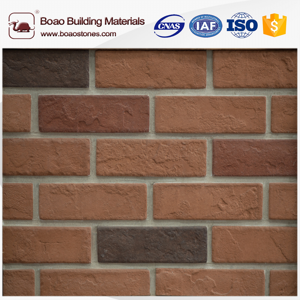 Boao Rugged face artificial archaized bricks