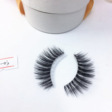 own brand false handmade 3D fake magnetic synthetic eyelashes with custom logo or private label