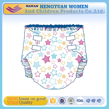 ABDL OEM Disposable Adult Baby Printed Diaper