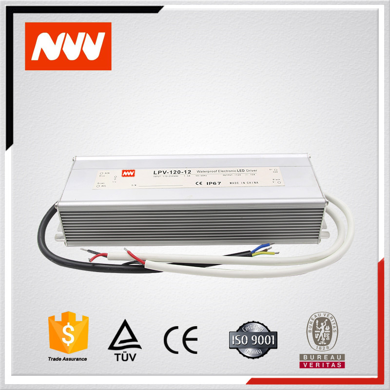LPV-120-48 120w 220v 110v ac to 48v dc water proof switching mode converter power supply