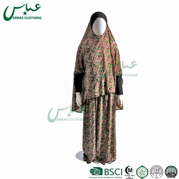 ABBAS small size brand Islamic clothing Girl fashion Muslim Kids Abaya