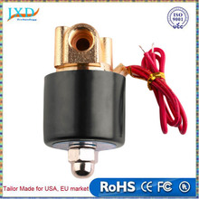 12V DC 1/4 inch Normally Closed Electric Solenoid Valve N/C for Water Air Gas Diesel 2-Way/Position