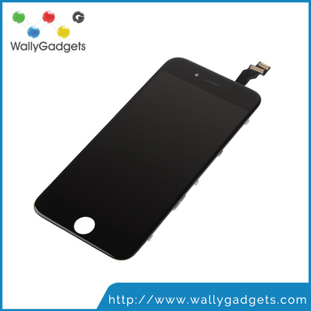 12 months warranty Refurbished China copy Black 4.7 inches Lcd screen digitizer assembly mobile phone display for iphone 6 mobil