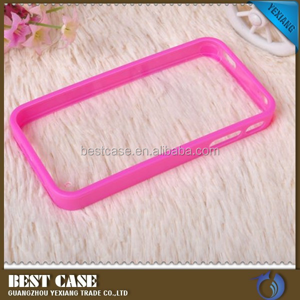 manufacture hrad back cover for iphone 4 4s 2 in 1 pc tpu case