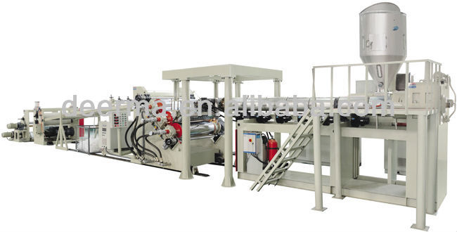 ABS PMMA PC PS PP PET Sheet Extrusion Line