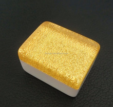 Acrylic Crystal Golden Chinese Mahjong