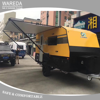 Wholesale Factory Price Manual Control Roll Out Caravan Awning
