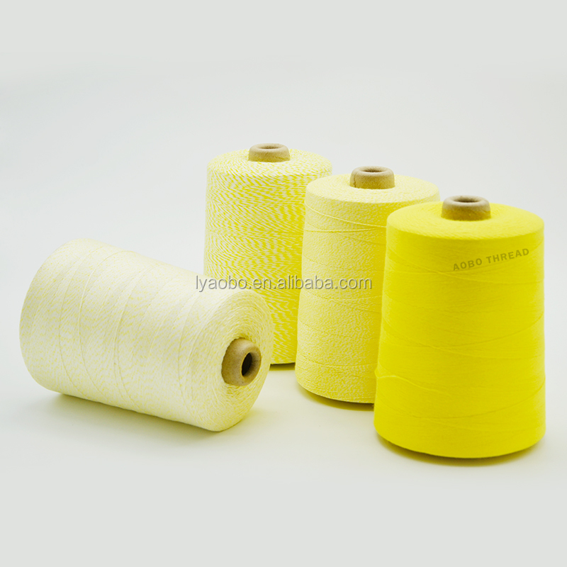 Pp Weaving Quality export to Russia 100 Polyester Bag Closing Thread/sack stitching thread