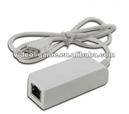 LAN Adaptor for Wii /wii u Game Accessory