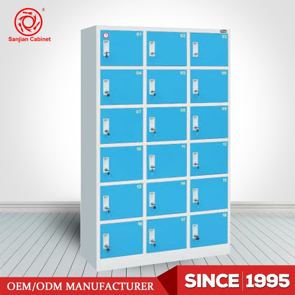 Over 20 Years Factory High Quality Steel Shoes Clothes Storage Beach Locker