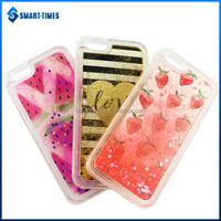 [Smart Times] Latest Pattern TPU Back Cover Of Mobile Phone Liquid Case For Iphone 6
