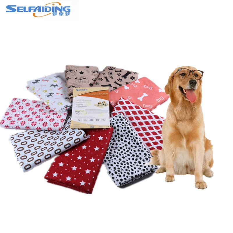 Washable and Reusable Dog Bed Mat Waterproof Puppy Pee Pads Dog Training Pad Wholesalers