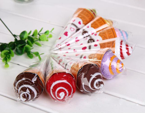Wholesale Cake Type Towel Indian Return Gifts For Birthday Wedding Party Supplies