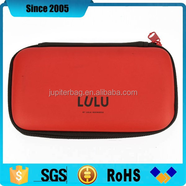 made in china HDD eva hard disk tool case & bag with printing logo