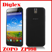 Wholesale Original ZOPO ZP998 Octa Core MTK6592 Android Mobile Phone 5.5 Inch 2GB RAM 16GB ROM Dual Sim Card 14MP Camera 3G OTG