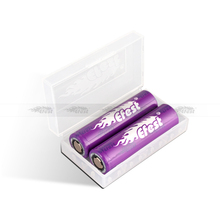 Cheap price efest 18650 battery case wholesale 2*18650 battery case colorful 18650 holder