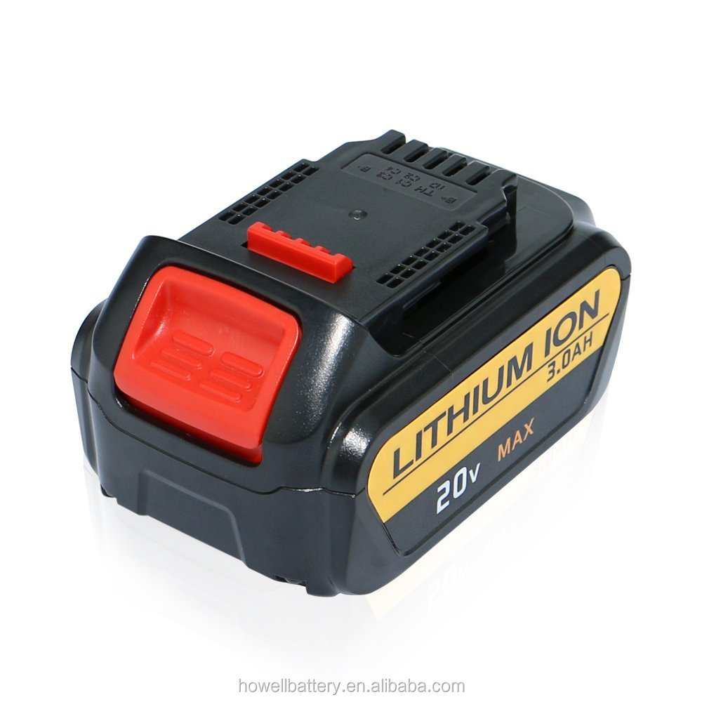 Wholesaler 20V 3ah ithium ion li ion Battery for Dewalt/power tools battery/cordless drill battery