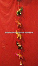 Click to open expanded view Indian Traditional Home Decorative Five Elephant Beads String Wall Door Hanging