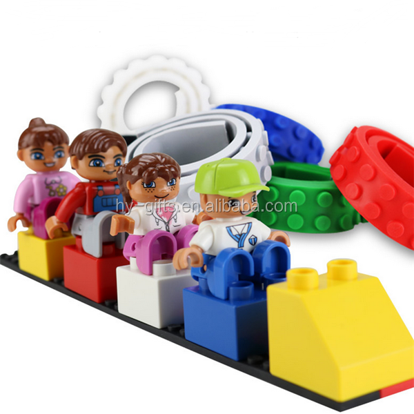 High Quality Wholesale Much Colors Educational Toy Silicone Nimuno Loops Block Tape For Legos