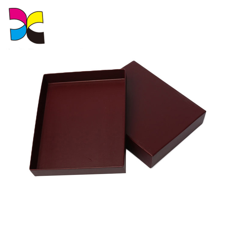 Customized recyclable beautiful ribbon fancy chocolate box