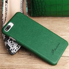 Snakeskin Pattern PU Leather Back Case for Iphone 7 / 7plus