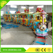 luanr park amusing kids track train electric train for sale