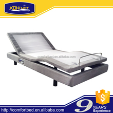 Home Furniture adjustable up down bed with massage function