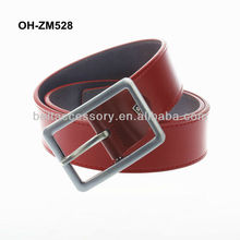 Mens genuine spanish leather apparel belts factory