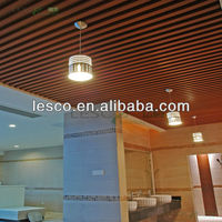 PVC Wooden Interior Wall Panelling Roof Ceiling Design