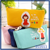 Most popular lovely gift pencil bag stationery wholesale free shipping free sample YIWU handmade felt pen bag