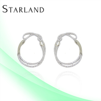 Starland Baoyuan Silver Jewelry Jewelry Settings And Mountings Sterling Silver CAE1407