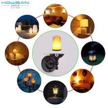 2018 latest model B1s breathing led flame shape bulb with CE RoHS