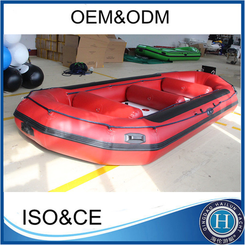 480CM inflatable river rafting boat whitewater with self-draining floor