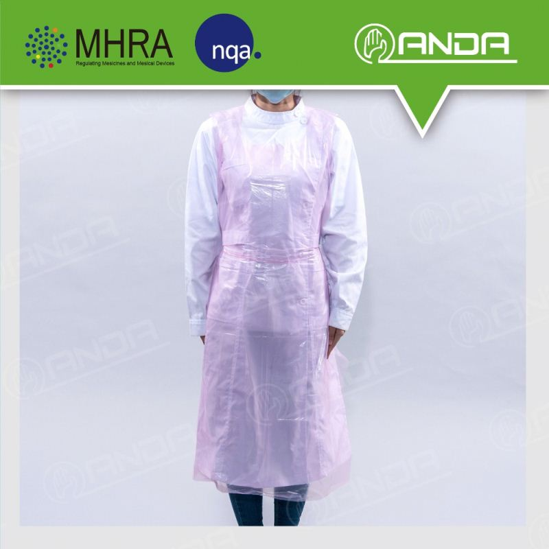 ADP002 disposable PE Plastic Type plastic ldpe/hdpe waterproof apron