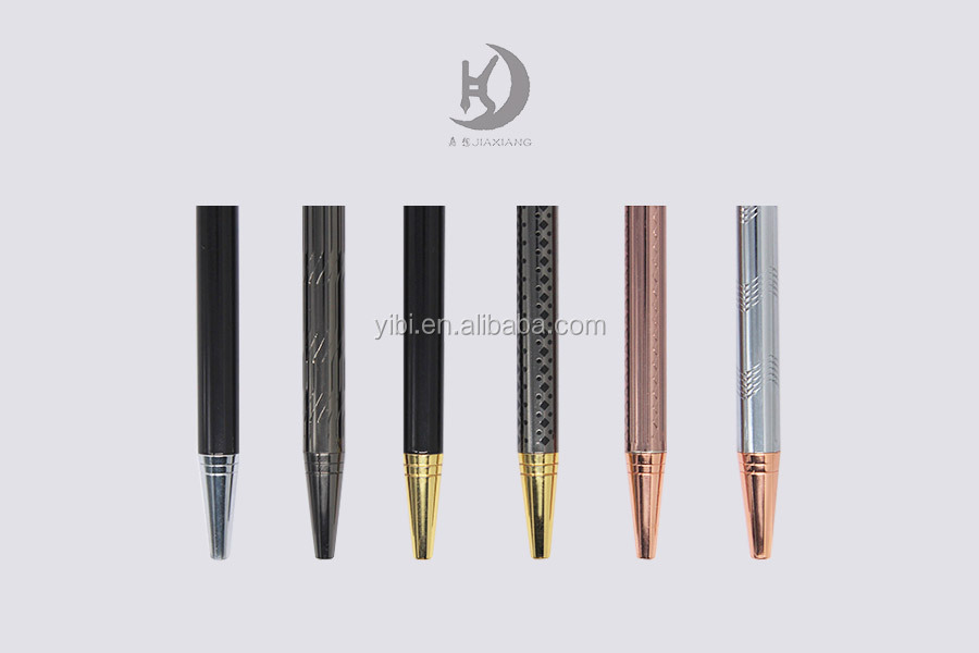 DP-111 new design metal fashionable multi-color logo ballpoint pen