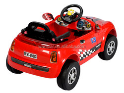 New and hot sale 4 wheels big baby car, baby riding car, remote baby car .