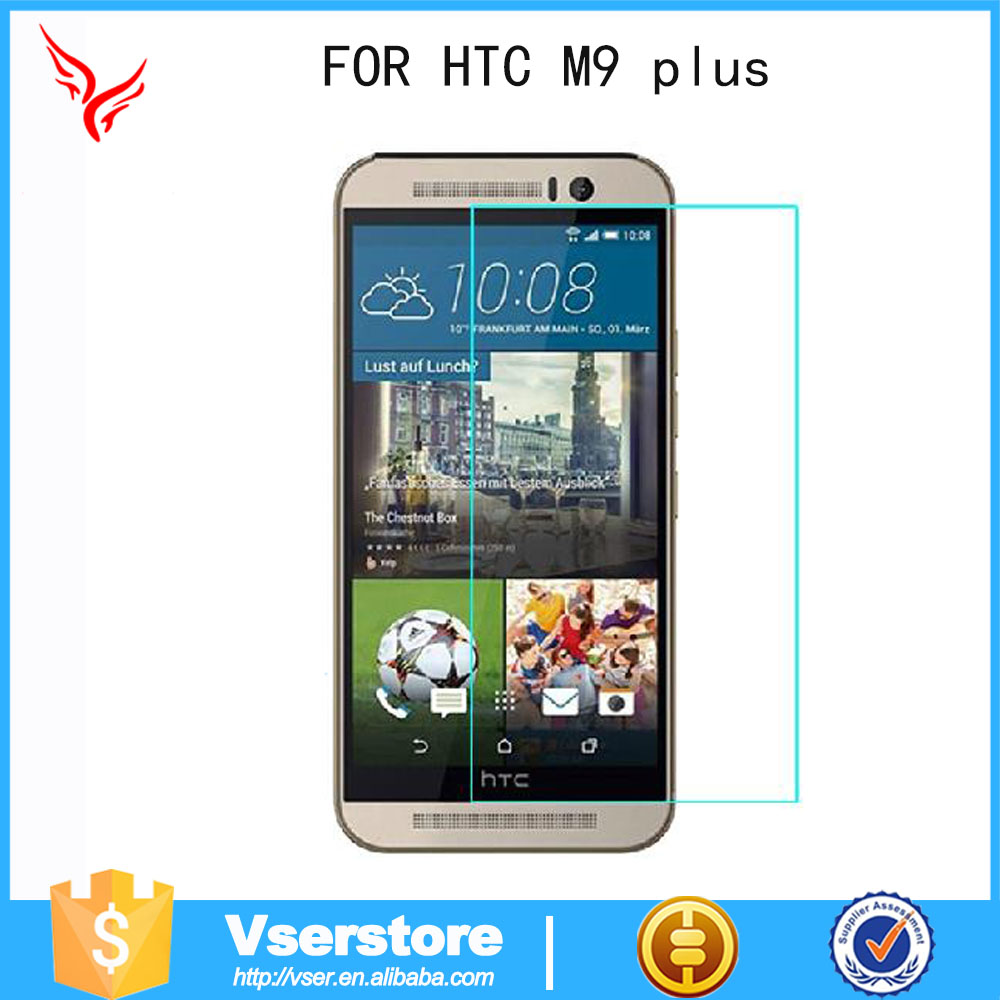 for HTC M9 plus\M9+ 0.33mm shock proof mobile screen protectors transparent Tempered Glass Film