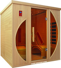 Luxury 2 Preson Lay Down Dry Far Infrared Sauna Room
