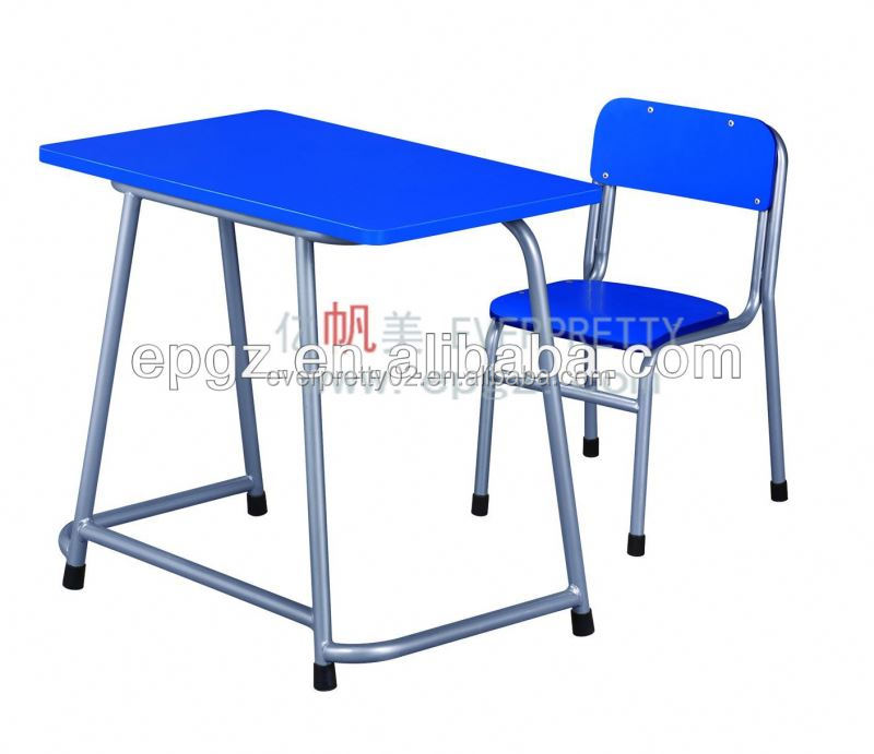 Study desk and chair for Kindergarten/Nursery/daycare/preschool,Wood children study desk and chair set