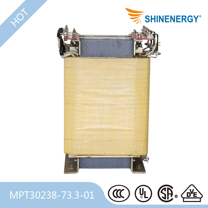 H Insulation Class Sg 3 Phase Dry Type Control Transformer With Cabinet