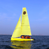 21' new model design Single Keel fiberglass sailboat