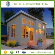 Luxury prefabricated high quality light gauge steel framed villa house